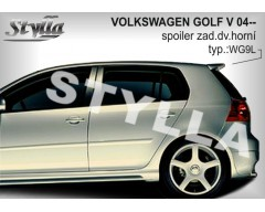 Спойлер Volkswagen Golf 5 (хетчбек)